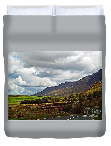 Paradise In Ireland Duvet Cover by Patricia Griffin Brett