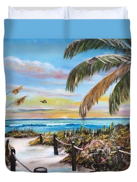 Paradise Duvet Cover by Lloyd Dobson