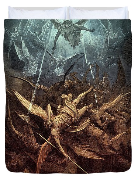 Paradise Lost,  Fall Of The Rebel Angels, Duvet Cover