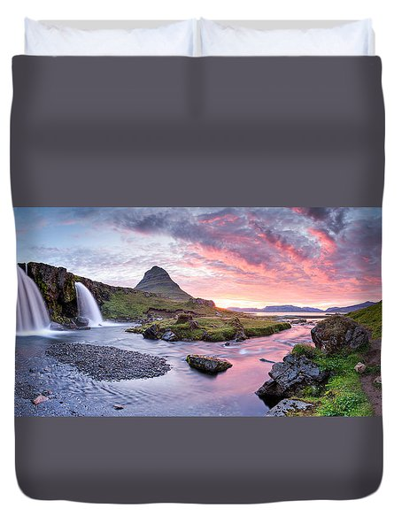 Paradise Lost - Large Panorama Duvet Cover