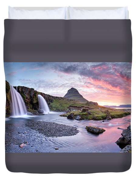 Paradise Lost - Panorama Duvet Cover