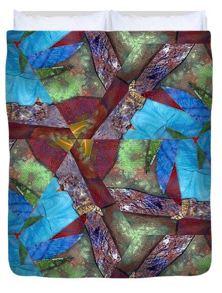 Paradise Duvet Cover by Maria Watt