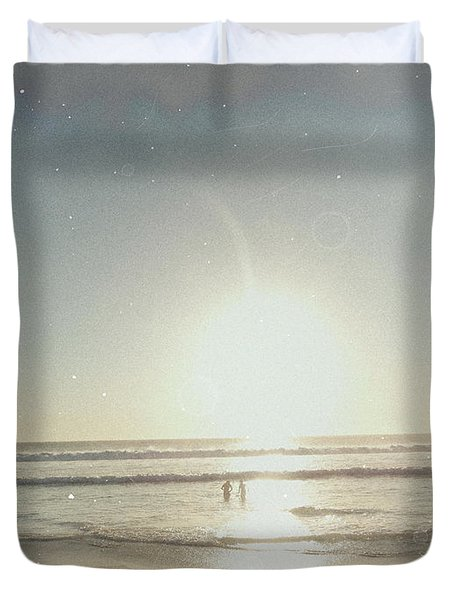 Duvet Cover featuring the photograph Paradise Old Pieces by Beto Machado