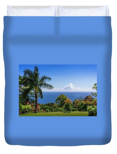 Paradise Picnic Duvet Cover