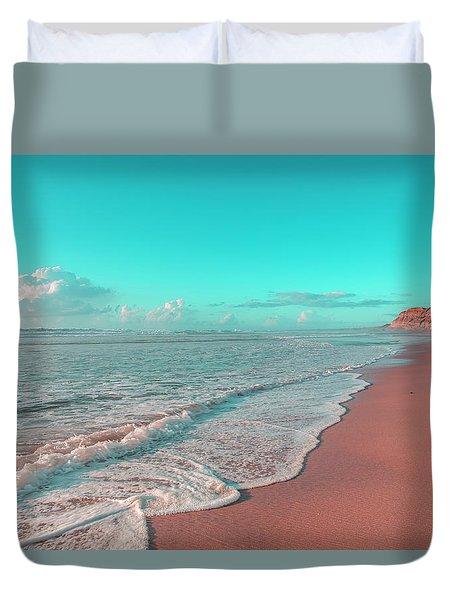 Paradisiac Beaches Duvet Cover