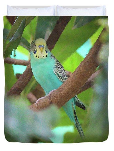 Parakeet Duvet Cover