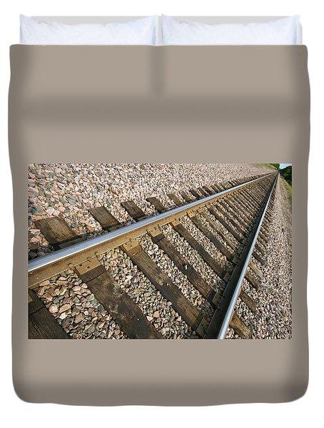 Parallel Duvet Cover