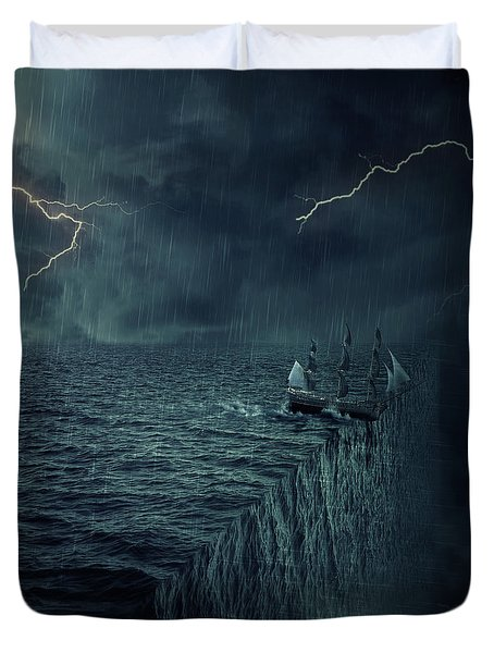 Parallelism Duvet Cover by Psycho Shadow