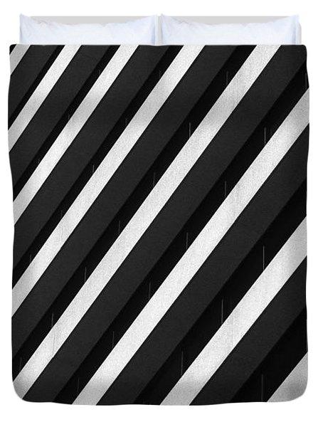 Parallels Duvet Cover by Kelvin Booker