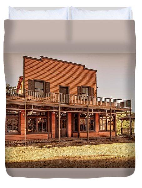 Paramount Ranch Saloon Duvet Cover