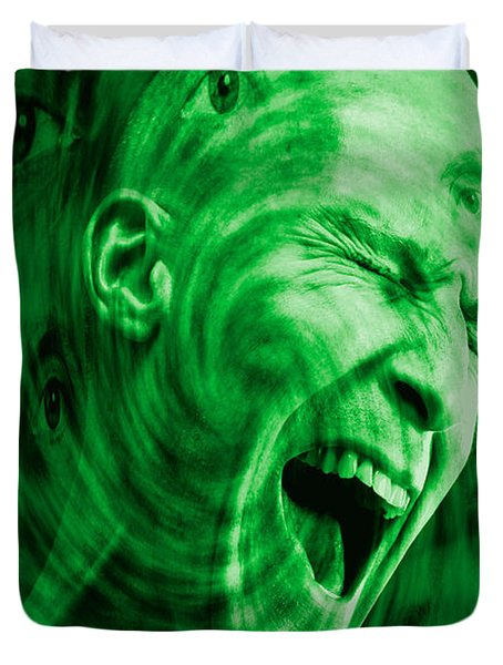 Paranoid Personality Disorder Duvet Cover