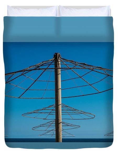 Parasols Duvet Cover