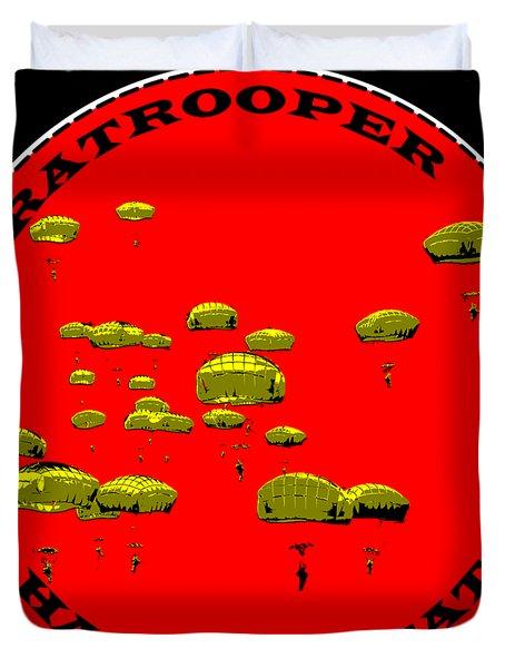 Paratrooper Fun Duvet Cover