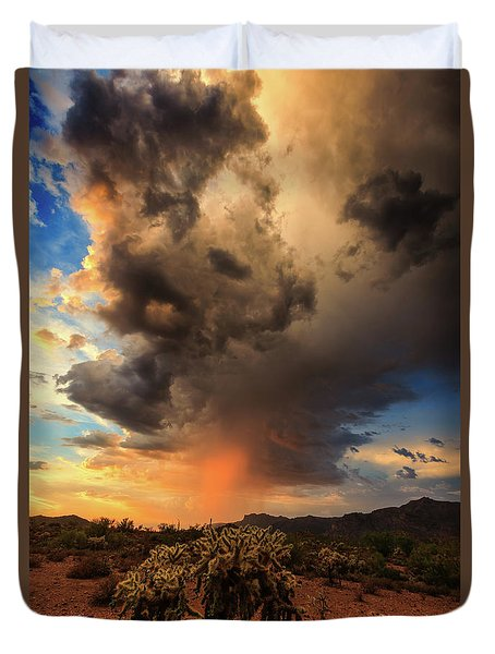 Duvet Cover featuring the photograph Parched by Rick Furmanek