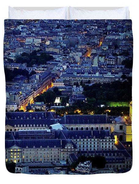 Paris 10 Duvet Cover