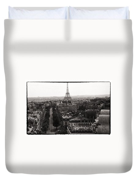 Paris 1966 Duvet Cover by Steve Archbold