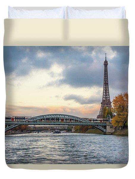 Paris 3 Duvet Cover