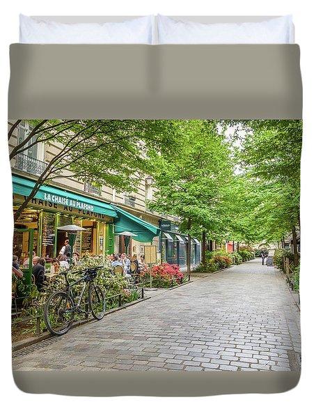 Paris In The Spring  Duvet Cover