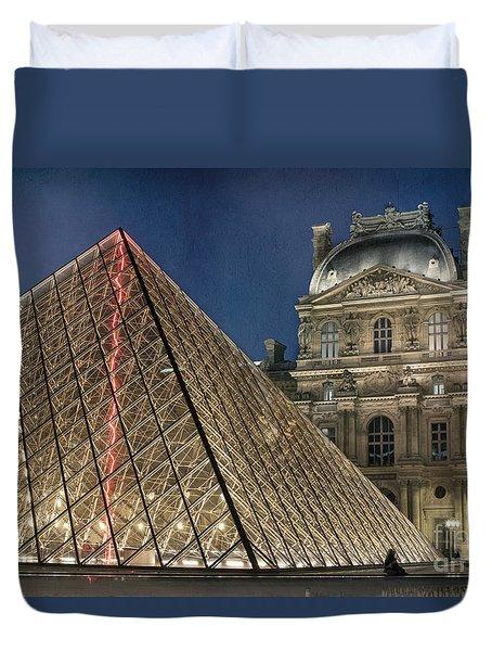 Paris Louvre Duvet Cover
