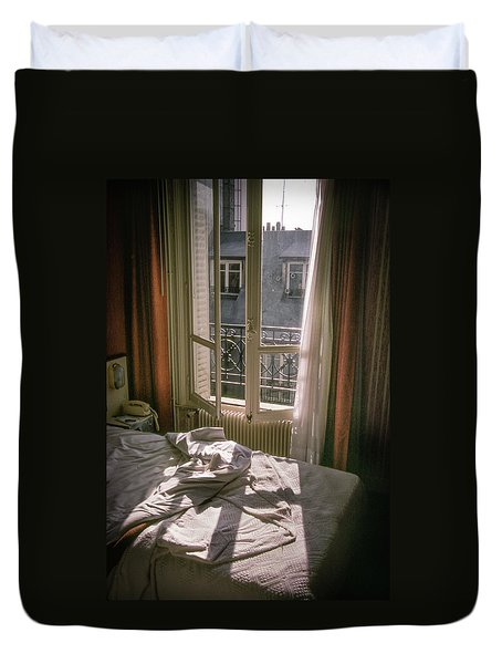 Paris Morning Duvet Cover