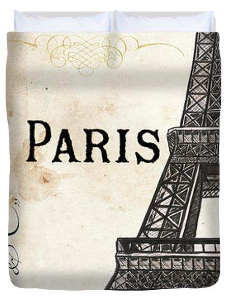 Paris, Ooh La La 1 Duvet Cover
