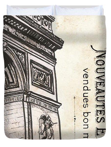 Paris, Ooh La La 2 Duvet Cover