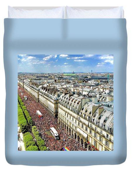 Paris Pride March 2018 Duvet Cover