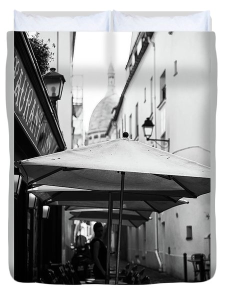 Paris Scene Duvet Cover
