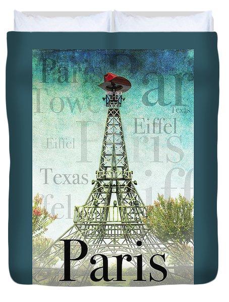 Paris Texas Style Duvet Cover