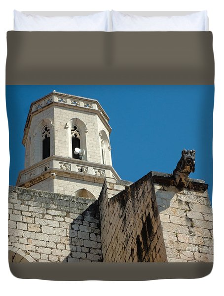Duvet Cover featuring the photograph Parish Church Of St. Peter by Gregory Dyer