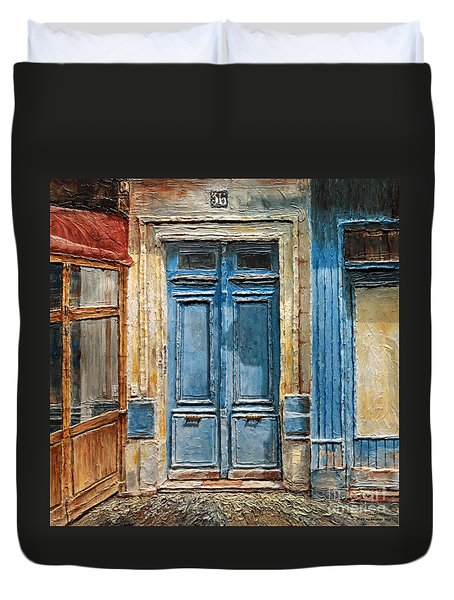 Parisian Door No.36 Duvet Cover