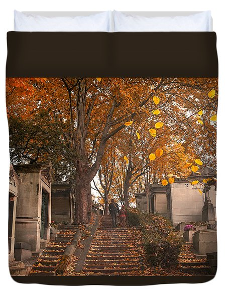 Parisian Fall Duvet Cover