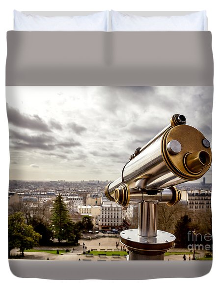 Parisian View Duvet Cover