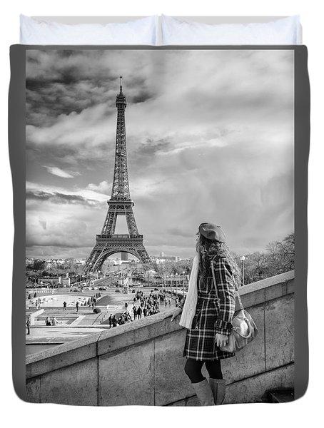 Parisien 2 Duvet Cover
