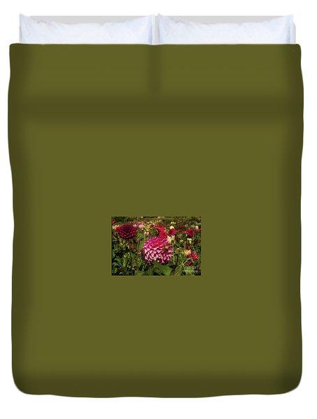 Park Blossoms  Duvet Cover