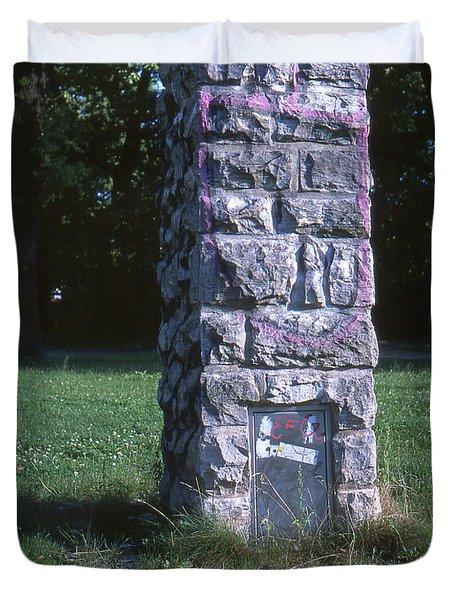 Park Column Duvet Cover