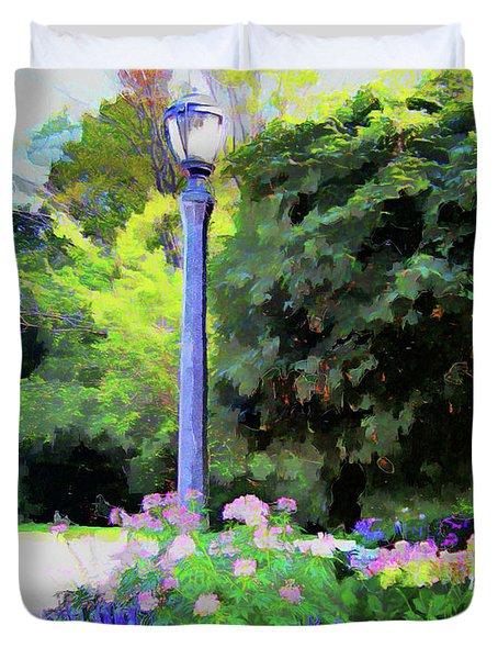 Park Light Duvet Cover
