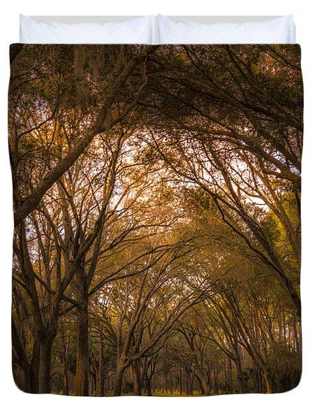 Park Overhang Duvet Cover