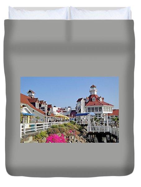Parkers' Lighthouse Duvet Cover
