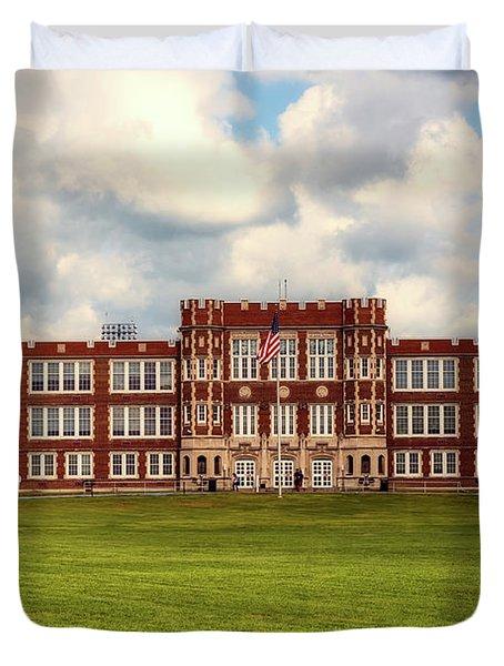 Parkersburg High School - West Virginia Duvet Cover by L O C