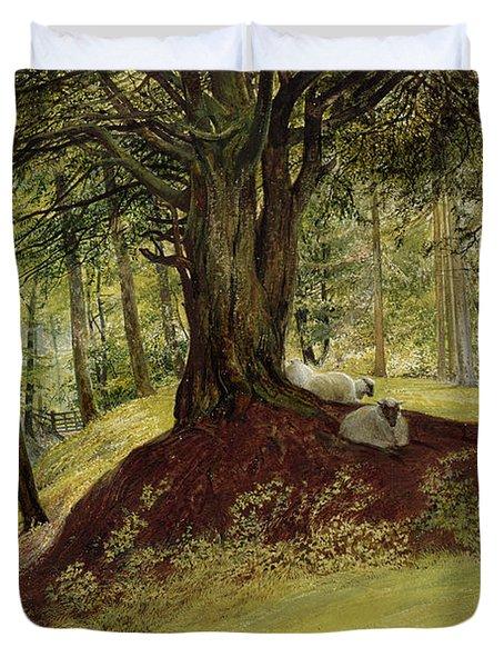 Parkhurst Woods Duvet Cover by Richard Redgrave