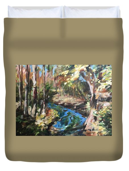 Parlee's Farm Fall Creek Duvet Cover