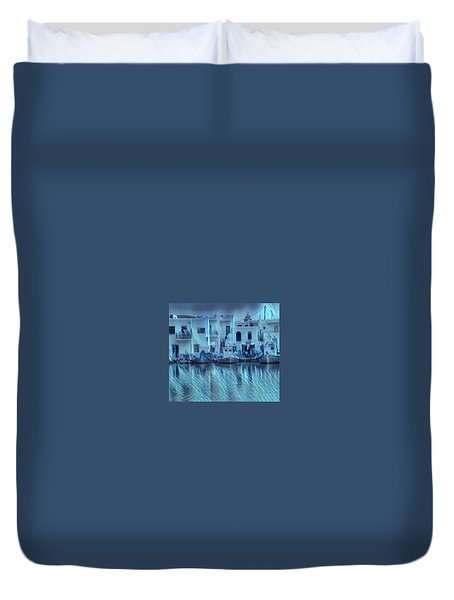 Paros Island Beauty Greece Duvet Cover
