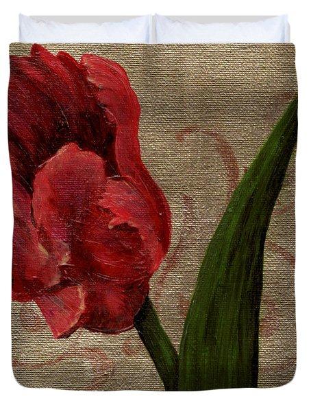 Parrot Tulip I Duvet Cover