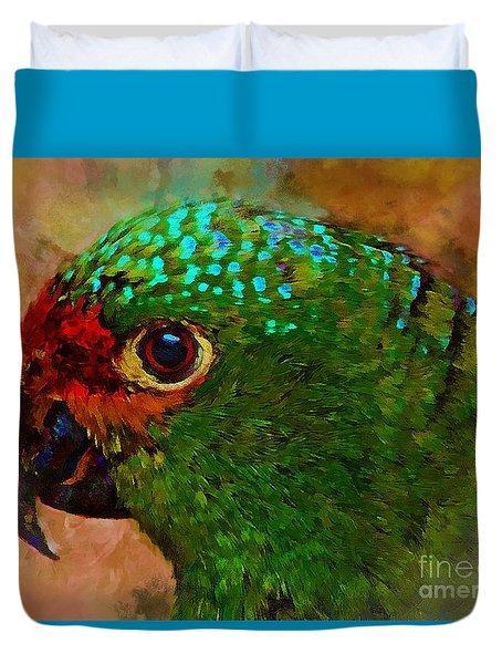 Parrote Duvet Cover