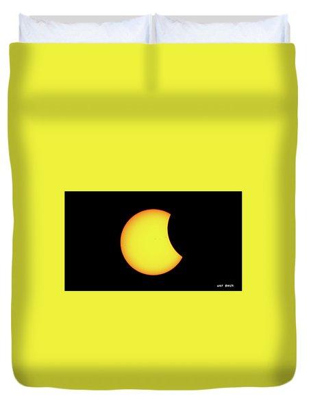 Partial Eclipse 1 Duvet Cover