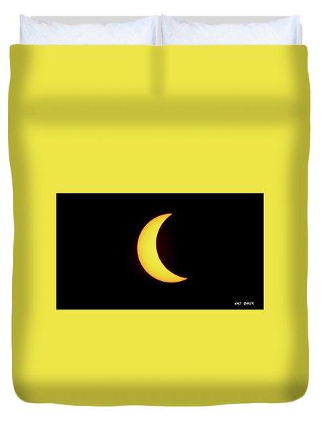 Partial Eclipse 4 Duvet Cover