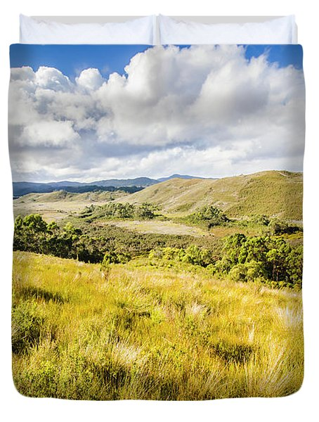 Parting Creek Regional Reserve Tasmania Duvet Cover