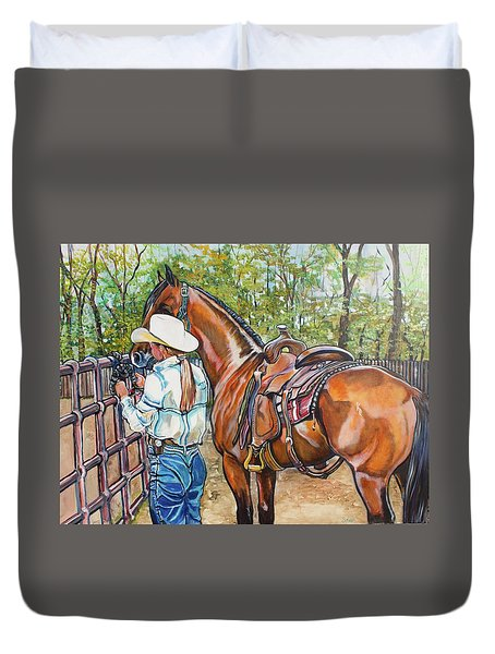 Partners Duvet Cover