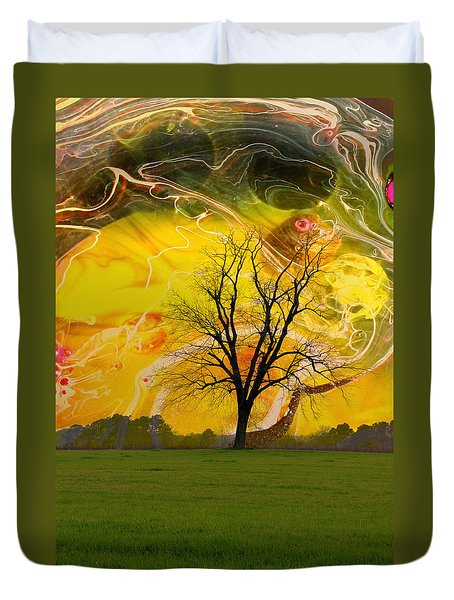 Party Skies Duvet Cover
